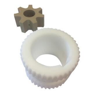 plast tandhjul