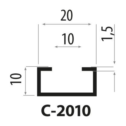 c2010 stålprofil