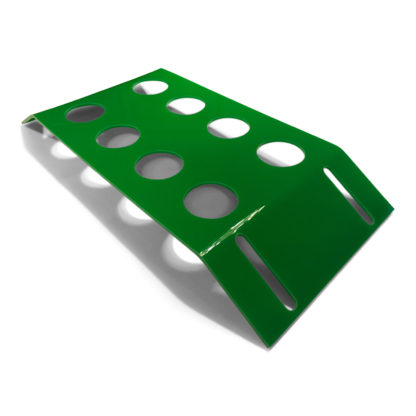 holder til pilleglas grøn