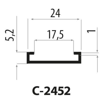 cp2452 stålprofil
