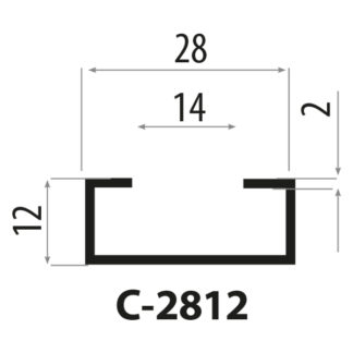 CP2812 stålprofiler