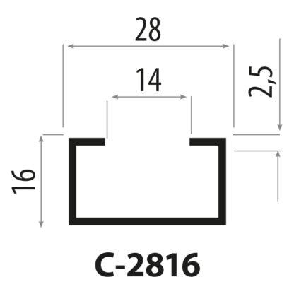 CP2816 stålprofiler