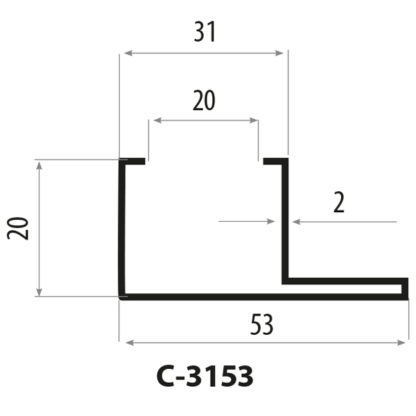 CP3153 staalprofil