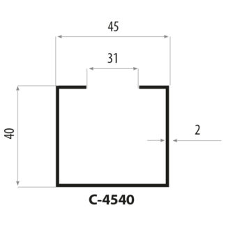 CP4540 Stålprofil