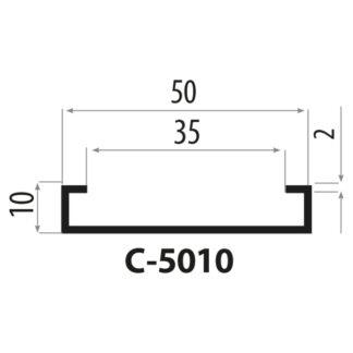 C-5010 Staalprofil