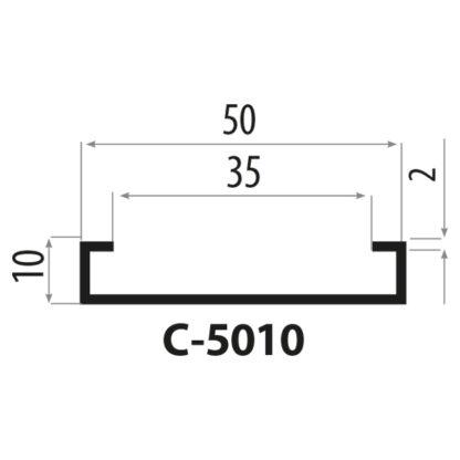 C-5010 Stålprofil