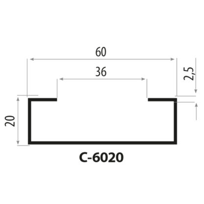 CP6020 staalprofil