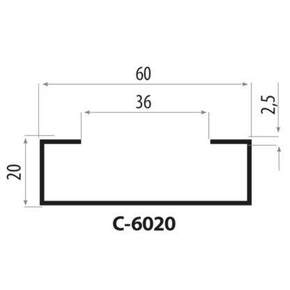CP6020 stålprofil