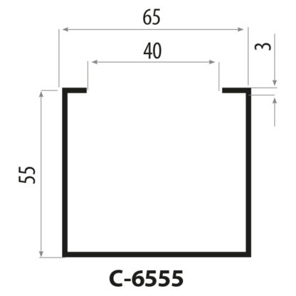 cp6555 stålprofiler