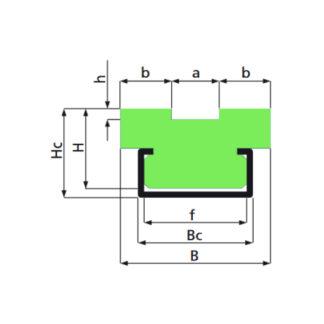 Kædeføring GR2-C PlastLageret