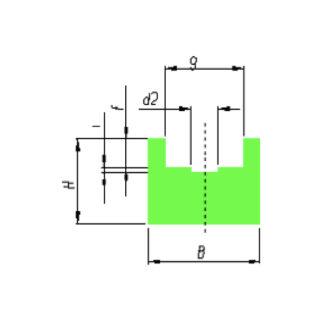 Kædeprofil GL1a plastlageret